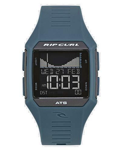 Rip Curl Men's Rifles Midsize Digital Tide Surf Watch | Quartz Waterproof Sport Watch, Display Quartz, Detailed Tide View with Alarm, Stopwatch + Timer | 35mm Case Diameter