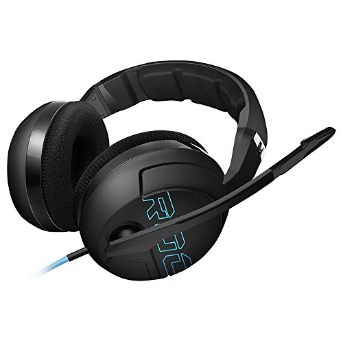 ROCCAT Kave XTD Stereo Premium Over-Ear Gaming Headset (50 mm Speaker, abnehmbares Mikrofon, 2 x 3,5 mm Klinke)