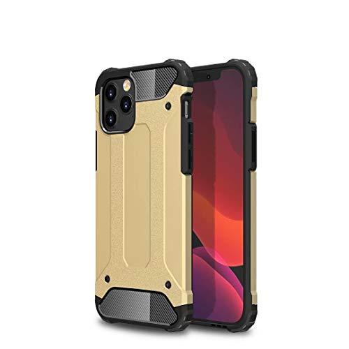 TiHen Hülle für Xiaomi Mi 5C Hülle, Premium [Armor Serie] Outdoor Stoßfest Handyhülle Xiaomi Mi 5C, 360 Grad Full Cover Hülle Xiaomi Mi 5C Doppelschichter Schutz Hülle + Panzerglas 2 Stück - Gold