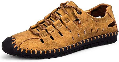 Sandalias de Deporte de Verano para Hombre Zapatos de Agua al Aire Libre para Senderismo Trekking Running Transpirable Secado rápido de la Zapatilla de Deporte más el tamaño 47 48