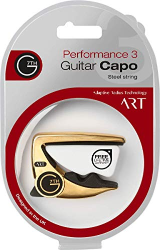G7th Performance 3 ART Acoustic Capo, gold plated