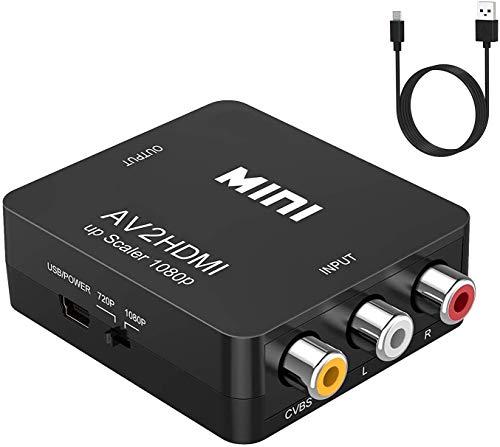RCA to HDMI,AV to HDMI Converter...