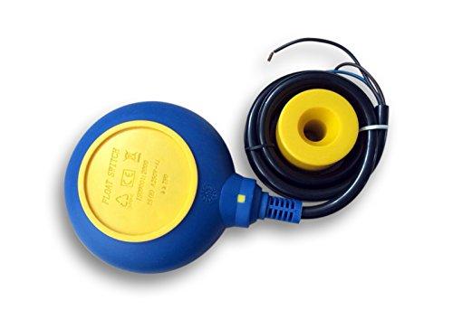 Schwimmerschalter 5 m 250 V 16 A Pumpe Tauchpumpen Pegelschalter Wechsler rund
