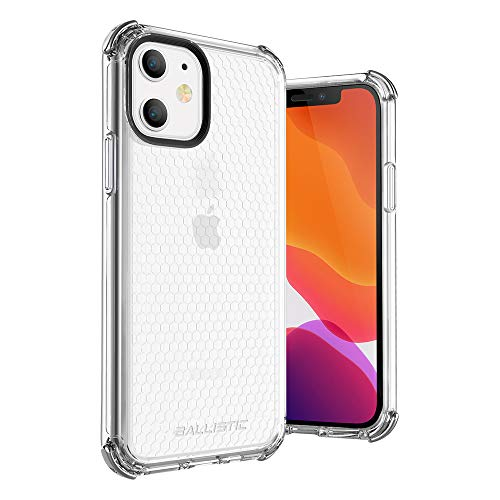 BALLISITIC iPhone 11 Clear Case, Thin Slim Transparent Case Drop Protection Rugged Case with Bumper Cushion for iPhone 11 6.1' (Crystal Clear)