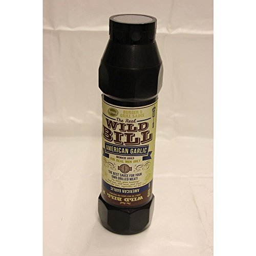 The Real Wild Bill Barbecue Sauce American Garlic 750ml Flasche (Grill-Sauce)