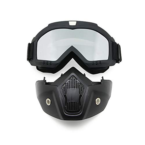EnzoDate Motocicleta Bici de la Suciedad ATV Gafas Máscara
