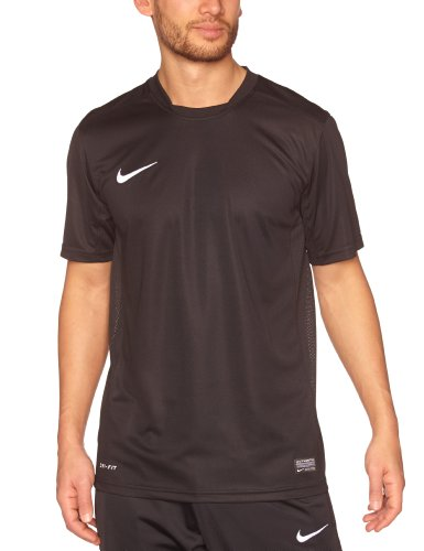 Nike Herren Kurzarm Trikot Park VI, Schwarz (Black/White), 2XL, 448209