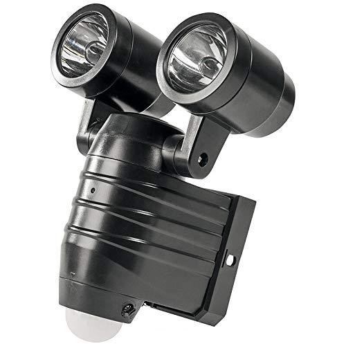 ELV batterij LED-wandlamp met 110 ° bewegingsmelder en 2 verstelbare spots