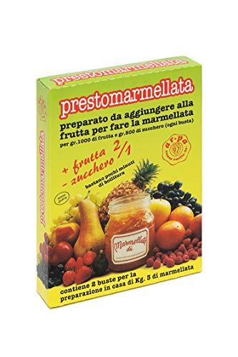 AR.PA   Prestomarmellata 2 a 1   10 astucci Da 2 Buste   Preparato Per Confetture   Preparato per marmellata   Senza Glutine   10 Astucci da 60g