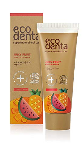 Ecodenta Tandpasta Kids Juicy Fruit, 75 Ml