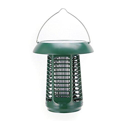 Lampe anti-moustique Énergie solaire Mosquito Lampe Insect Killer Insectes Pièges Jardin Insectes Tueur En Plein Air Moustique Tueur Illumination Électrique Choc