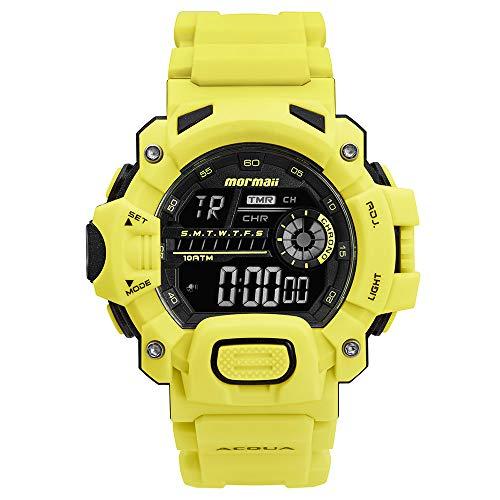 Relógio Mormaii, Pulseira Polimero, Masculino, Verde
