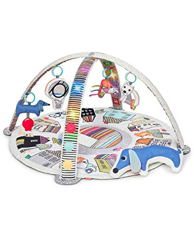 Skip Hop Vibrant Village Smart Lights Baby Play Gym with Music, Light Show,