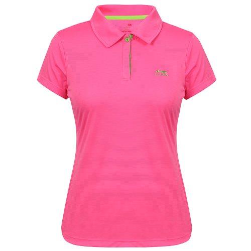 Li-Ning A292 T-Shirt pour Femme XS Rose