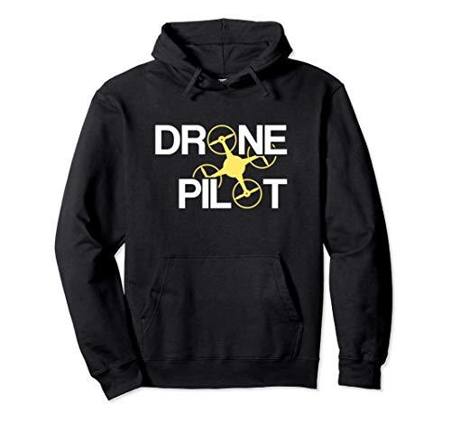 Piloto de Drones Sudadera con Capucha