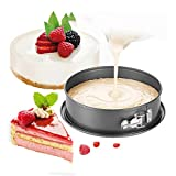 7 Inch Cake Mould, Non-stick Cheesecake Pan with Removable Bottom Quick Release Latch Leakproof Round Cake Pan for Home, Cake Shop, Restaurant