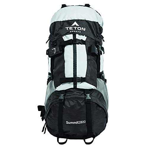 TETON Sports Summit 2800 Backpack; Lightweight, Durable, High-Capacity Daypack for Hiking, Travel and Camping; Not Your Basic Backpack