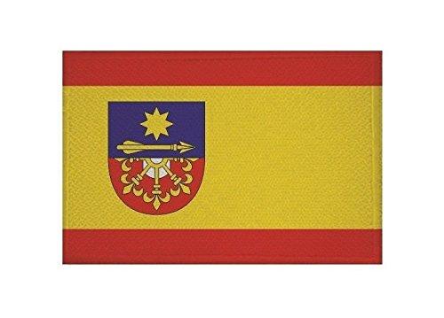 U24 Aufnäher Hünxe Fahne Flagge Aufbügler Patch 9 x 6 cm