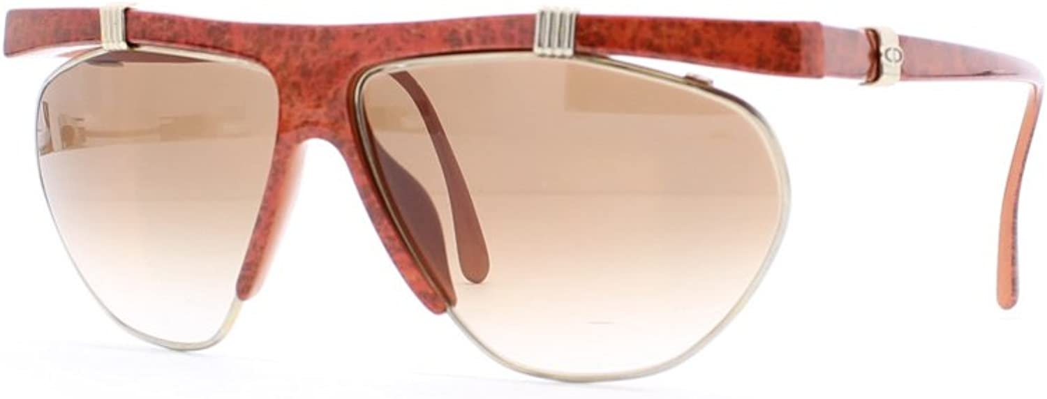 Christian Dior 2555 Rnd 45 Red Authentic Women Vintage Sunglasses