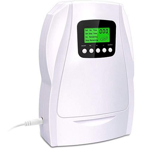 ZRZJBX MáQuina Generadora De Ozono Aire Agua Ionizador Purificador Esterilizador Desinfectante De Aire Hortalizas De Fruta EsterilizacióN Ozonizador