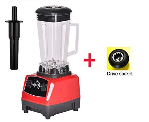HEARTLIFE 2200W 2L grade home professional smoothies power blender food mixer juicer food fruit processor,RED EXTRA DRIVER,AU Plug