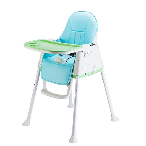 Review Of HAMIMI Multifunctional Children's Dining Chair Foldable Portable Baby Table Kids Learn to ...