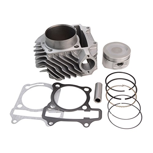 GOOFIT 63mm Big Bore Cylinder Piston Kit for 4-Stroke GY6 180cc Engines ATV Scooter Go Kart