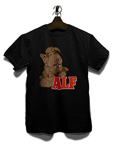 Alf T-Shirt schwarz L