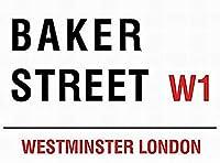 ヴィンテージ金属サインベイカーストリートw 1ロンドン通りサインウォール装飾インチ