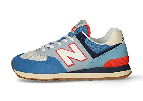 New Balance Herren 574v2 Sneaker, Blau (Blue SOS), 43 EU
