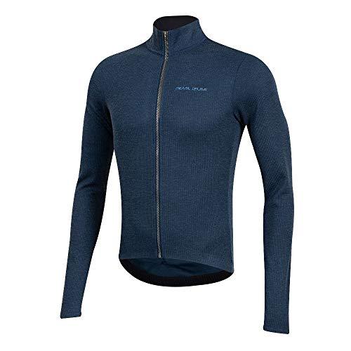 PEARL IZUMI Men's PRO Thermal Cycling Jersey, Navy, Medium