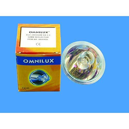 OMNILUX ELC 24 V / 250 W GX-5.3 500 h 50 mm Ref