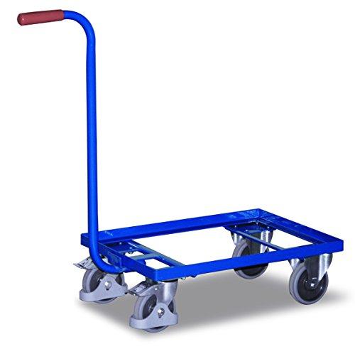 Griffroller RAL5010 Enzianblau Kunststoffkiste