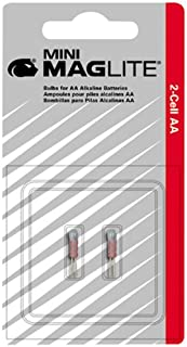 Xenon Lamp for Mini Mag-Lite AA Flashlight (Set of 5)