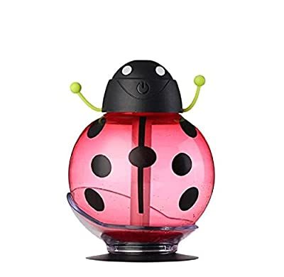 eBoTrade Cool Mist Humidifier, Portable 360 Degree Rotation Creative Cartoon Beetle Ultrasonic Humidifier Skin Replenishment USB Air Freshener Purifier Mist Maker