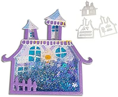 Haunted House Shaker Metal Cutting Scrapbo Dies Stencils DIY for Bombing new work New products world's highest quality popular