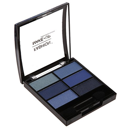 Sombra de sombra de ojos–6colores–degradado de color azul–Maquillaje Ojos