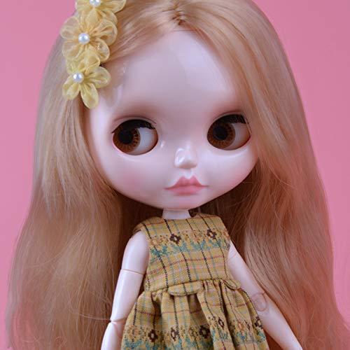 YUMMON el de 12 Pulgadas muñeca Desnuda es Similar a la muñeca del bjd Blyth, muñecos Personalizados se Pueden Cambiar Maquillaje y Vestido de muñecas DIY YM21