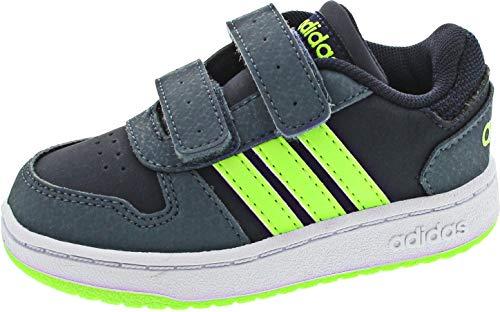 adidas Hoops 2.0 Cmf I, Scarpe da Ginnastica, Tinley/Versen/Azuleg, 23 EU