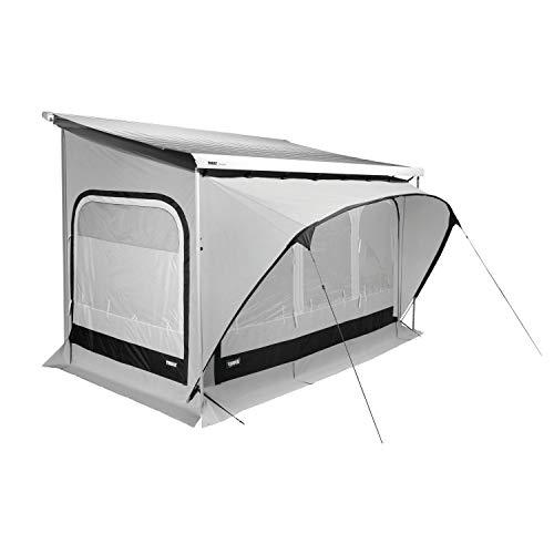 Thule Markisenzelt QuickFit L Anbauhöhe 245-264cm Wohnwagen Vorzelt Länge 350cm Markisenwand Caravan