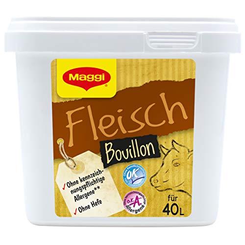 Maggi Fleischbouillon o.k.A., ohne Hefe & ohne Einlage, 1er Pack (1 x 800g Gastro Box)