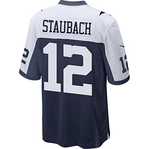 Dallas Cowboys Mens NFL Nike Game Jersey, Roger Staubach, Medium, Throwback