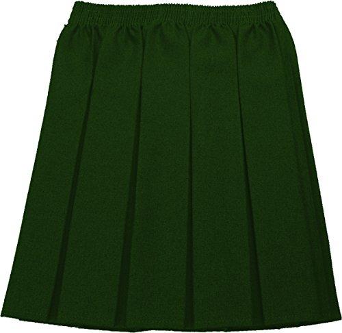 Schulrock Mädchen Plissiert Uniform Größen nur Uniform® UK - Flaschengrün, 8-9 Years