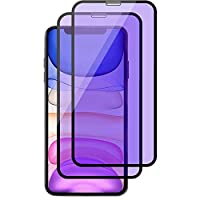 iPhoneX/XS ガラスフィルム ブルーライトカット 5.8インチ iPhoneXS フィルム アイフォンXS ガラスフィルム アイフォンX ガラス フィルム 0.26mm 対応機種(iphoneX/Xs)ブラック