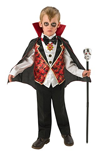 Rubies Disfraz de Drácula para niños Official 880346, tamaño mediano