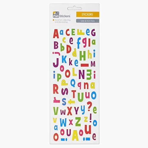 Fun Stickers ABC Multi-Coloured 731
