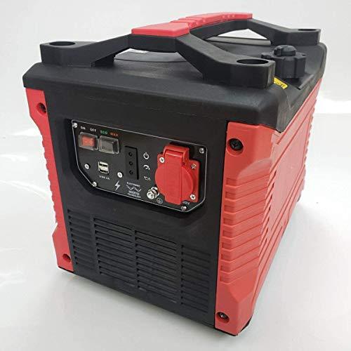 最新 正弦波 インバータ発電機 1500w 100vコンセント 2A USB2ヶ所 搭載 耐震設計 コンパクト軽量 災害 キャンプ