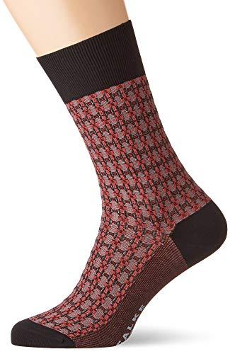 FALKE Herren Socken Infrastructure, Baumwollmischung, 1 Paar, Schwarz (Black 3000), Größe: 41-42