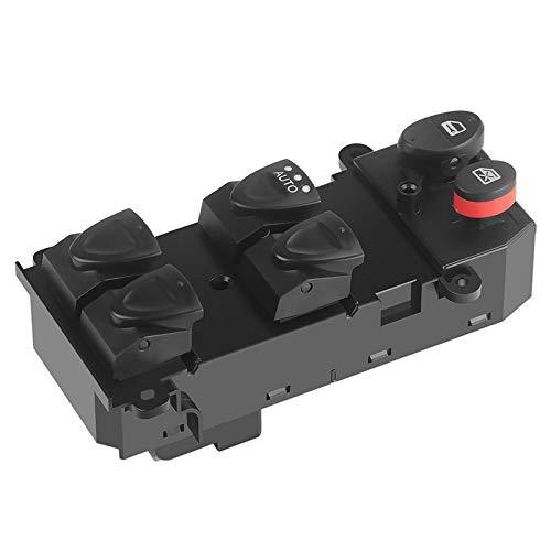 WeiYang Power Window Master Switch Reemplace Fit para Honda Civic 1.3 1.8 2.0 2006-2011 35750-SNA-A13 35750-SNV-H51 35750-SNV-H52 Delantero Izquierdo DR (Color Name : Black)