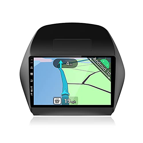 YUNTX Android 10 Autoradio adatto per Hyundai IX35(2010-2014)- GPS 2 Din - 2G+32G - 10.1 pollice TouchScreen- Supporta DAB / Controllo del Volante / BT 5.0 / WiFi / 4G / CarPlay / USB / Mirrorlink